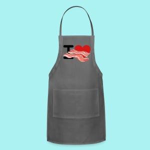 I Love Bacon - Adjustable Apron