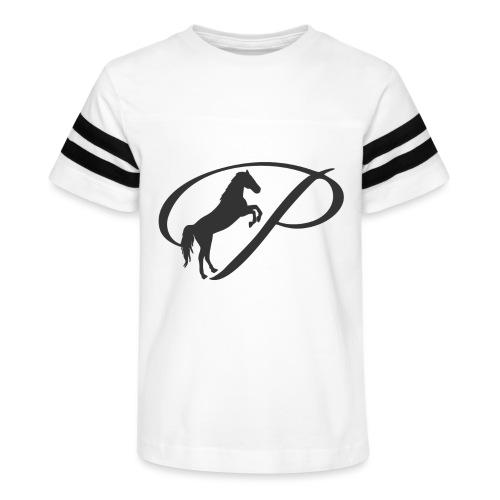 Kids Premium T-Shirt, Large grey logo - Kid's Vintage Sport T-Shirt