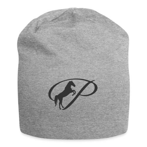 Womens Premium T-Shirt, Large grey Logo - Jersey Beanie