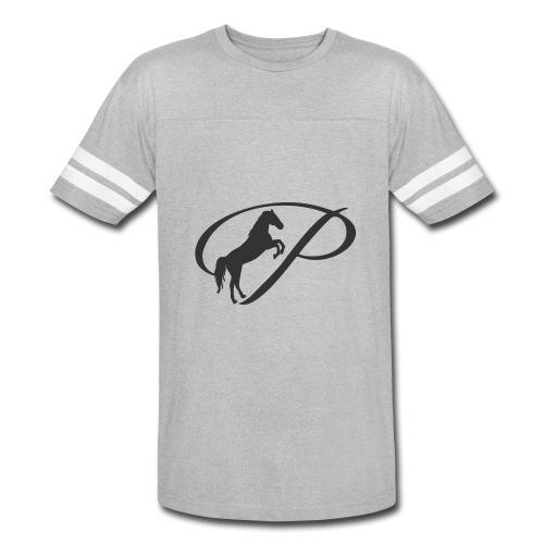 Womens Premium T-Shirt, Large grey Logo - Vintage Sport T-Shirt