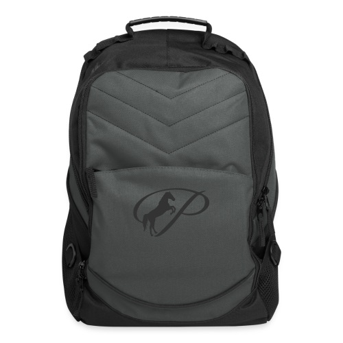 Womens Premium T-Shirt, Large grey Logo - Computer Backpack