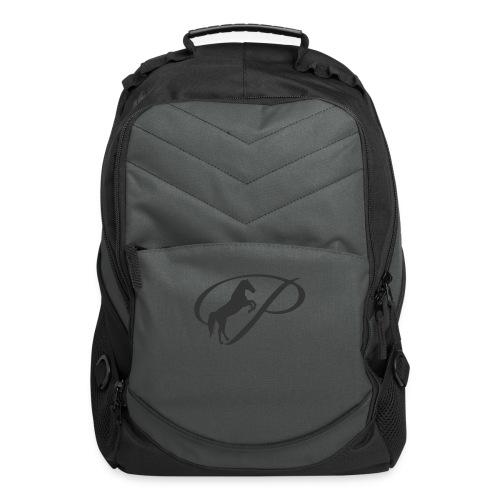 Womens Premium T-Shirt, Large grey Logo - Computer Backpack