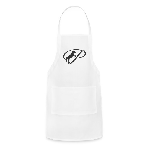Womens Premium T-Shirt, Large grey Logo - Adjustable Apron
