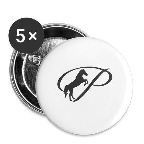 Womens Premium T-Shirt, Large grey Logo - Large Buttons