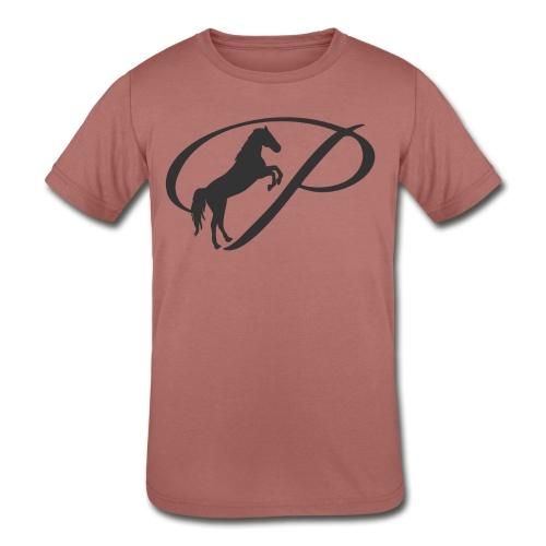 Womens Premium T-Shirt, Large grey Logo - Kid's Tri-Blend T-Shirt