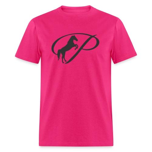 Womens Premium T-Shirt, Large grey Logo - Men's T-Shirt