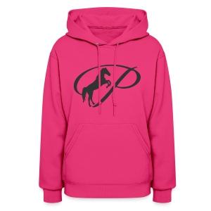 Womens Premium T-Shirt, Large grey Logo - Women's Hoodie