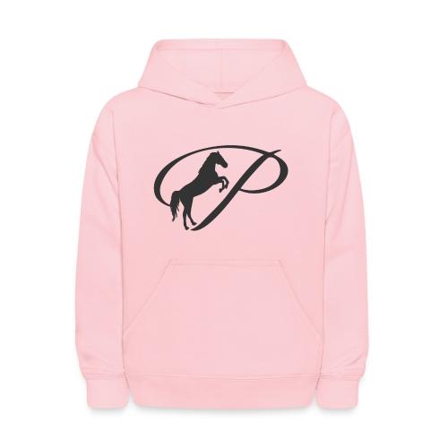 Womens Premium T-Shirt, Large grey Logo - Kids' Hoodie