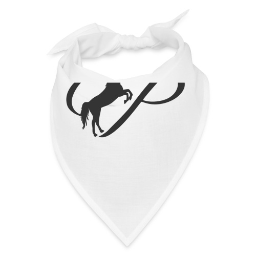 Womens Premium T-Shirt, Large grey Logo - Bandana