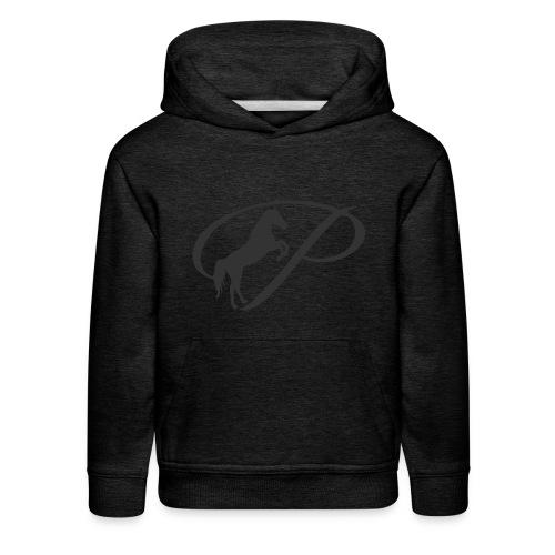 Womens Premium T-Shirt, Large grey Logo - Kids' Premium Hoodie