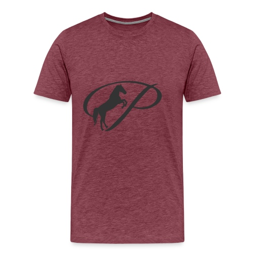 Womens Premium T-Shirt, Large grey Logo - Men's Premium T-Shirt