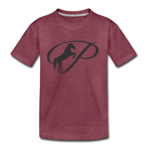 Womens Premium T-Shirt, Large grey Logo - Toddler Premium T-Shirt