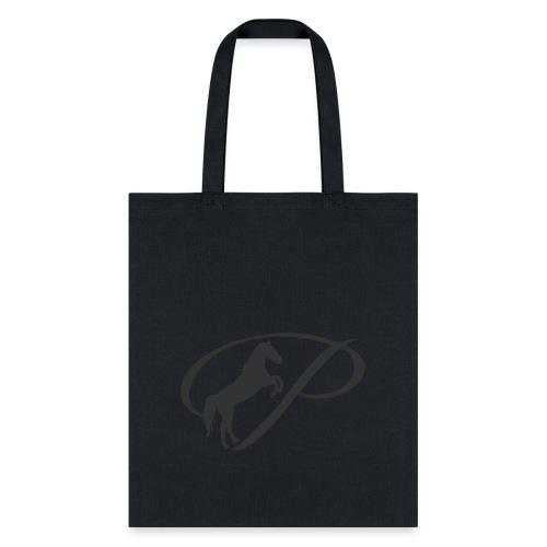 Womens Premium T-Shirt, Large grey Logo - Tote Bag