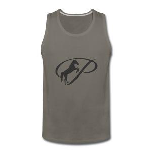 Womens Premium T-Shirt, Large grey Logo - Men's Premium Tank