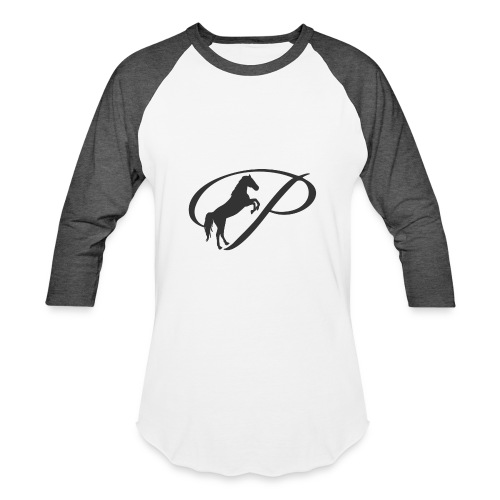 Womens Premium T-Shirt, Large grey Logo - Baseball T-Shirt