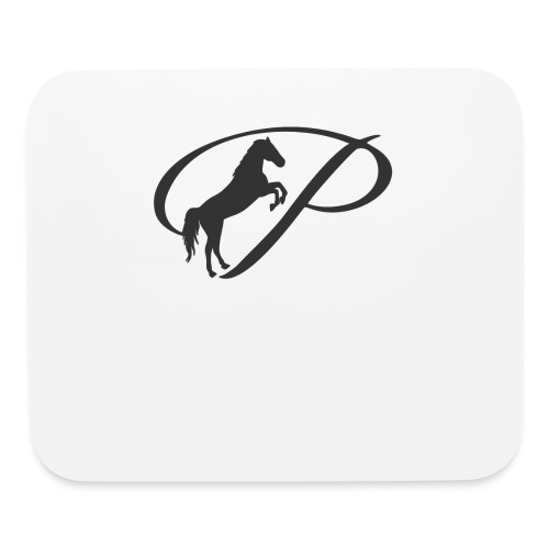 Womens Premium T-Shirt, Large grey Logo - Mouse pad Horizontal