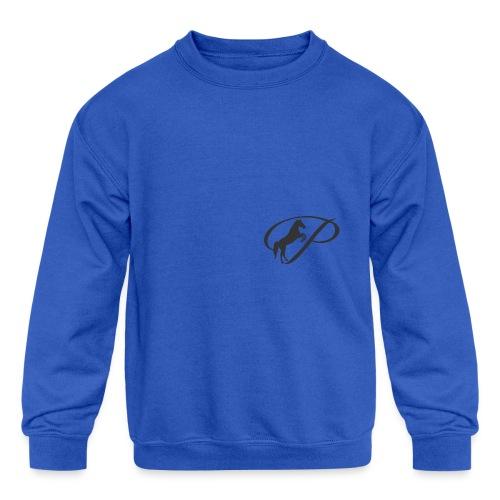 Mug with large grey logo - Kids' Crewneck Sweatshirt