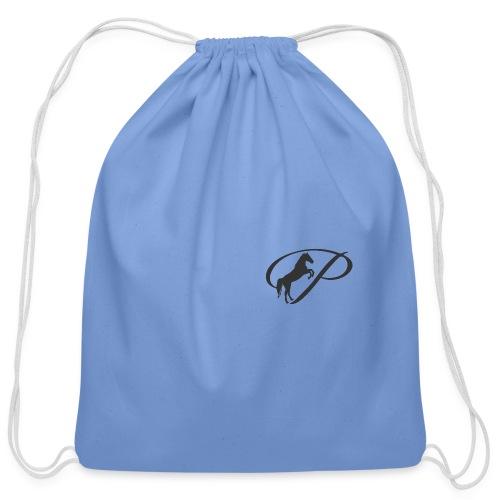 Mug with large grey logo - Cotton Drawstring Bag