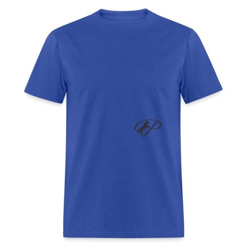 Mug with large grey logo - Men's T-Shirt