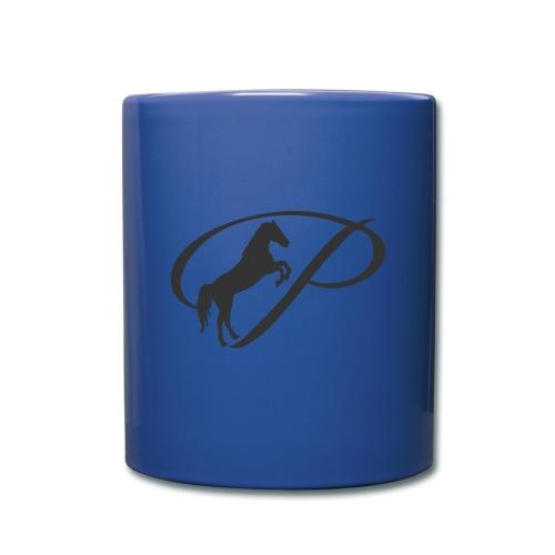 Mug with large grey logo - Full Color Mug