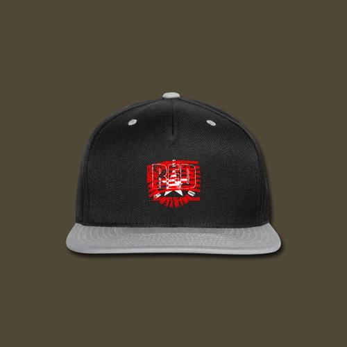 Circled Star R.E.D. Front And Back - Snap-back Baseball Cap