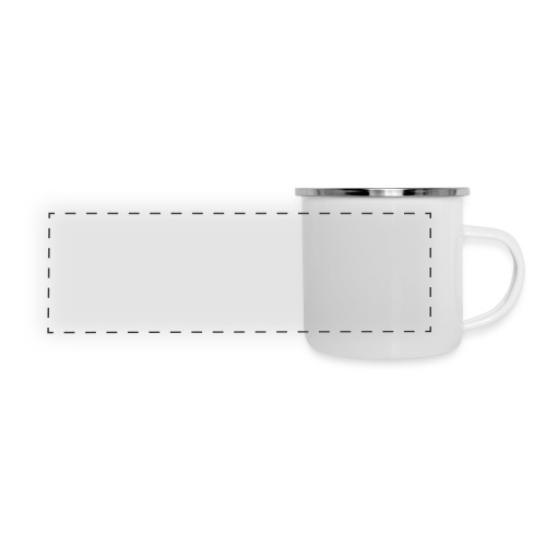 Womens Premium T-Shirt with large white logo - Panoramic Camper Mug