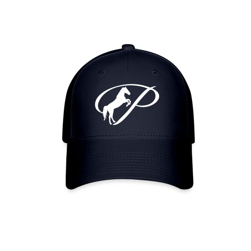 Womens Premium T-Shirt with large white logo - Baseball Cap