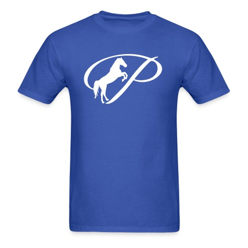 Womens Premium T-Shirt with large white logo - Men's T-Shirt
