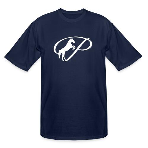 Womens Premium T-Shirt with large white logo - Men's Tall T-Shirt
