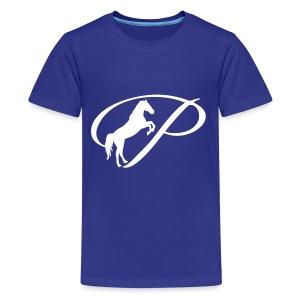 Womens Premium T-Shirt with large white logo - Kids' Premium T-Shirt
