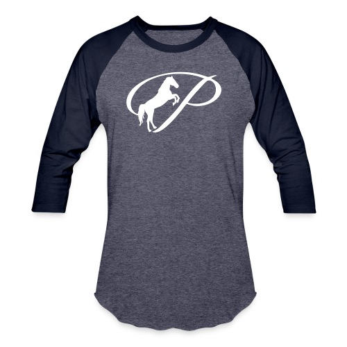 Womens Premium T-Shirt with large white logo - Baseball T-Shirt
