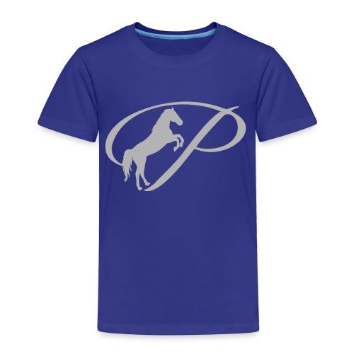 Womens T-shirt with large light grey logo - Toddler Premium T-Shirt