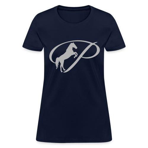 Mens T-Shirt with large light grey logo - Women's T-Shirt