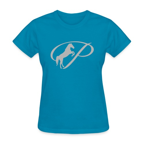 Kids T-Shirt with large light grey logo - Women's T-Shirt
