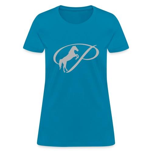 Kids T-Shirt with large light grey logo - Women's T-Shirt