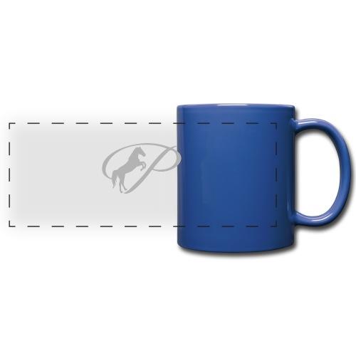 Mug with light grey logo - Full Color Panoramic Mug