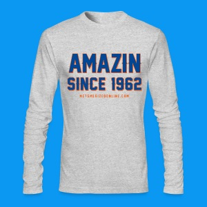 Amazin Since 1962 - Men's Long Sleeve T-Shirt by Next Level