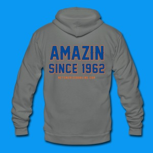 Amazin Since 1962 - Unisex Fleece Zip Hoodie by American Apparel