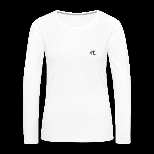 Women's Mental Health Ribbon - Women's Premium Long Sleeve T-Shirt