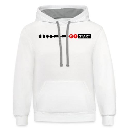 Contra Code Men's T-Shirt - Contrast Hoodie