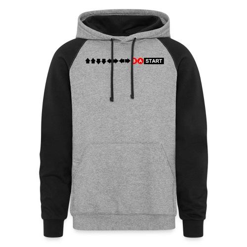 Contra Code Men's T-Shirt - Colorblock Hoodie