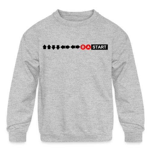 Contra Code Men's T-Shirt - Kids' Crewneck Sweatshirt