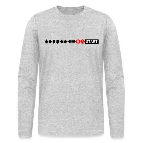 Contra Code Men's T-Shirt - Men's Long Sleeve T-Shirt by Next Level