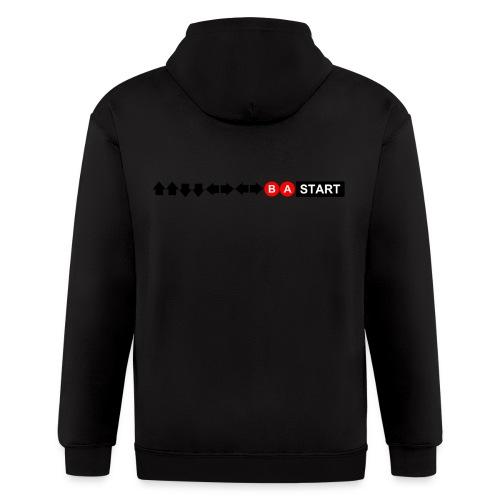 Contra Code Men's T-Shirt - Men's Zip Hoodie