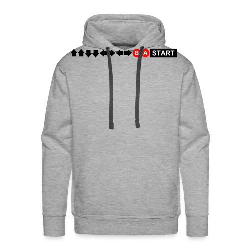Contra Code Men's T-Shirt - Men's Premium Hoodie