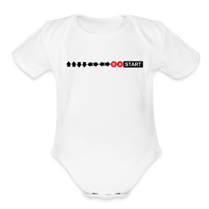 Contra Code Men's T-Shirt - Short Sleeve Baby Bodysuit