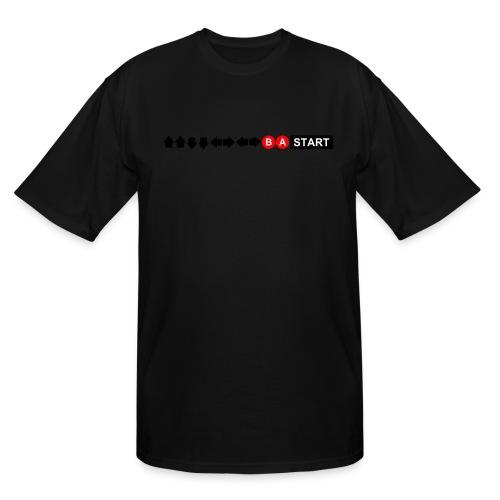 Contra Code Men's T-Shirt - Men's Tall T-Shirt