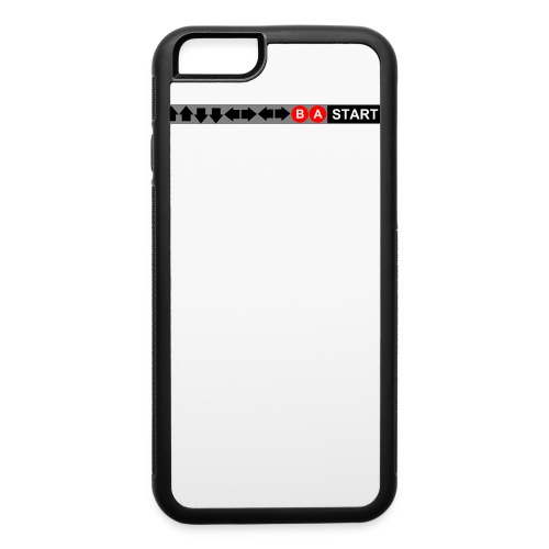 Contra Code Fitted Cotton/Poly T-Shirt by Next Level - iPhone 6/6s Rubber Case