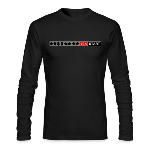 Contra Code Fitted Cotton/Poly T-Shirt by Next Level - Men's Long Sleeve T-Shirt by Next Level