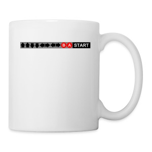 Contra Code Fitted Cotton/Poly T-Shirt by Next Level - Coffee/Tea Mug